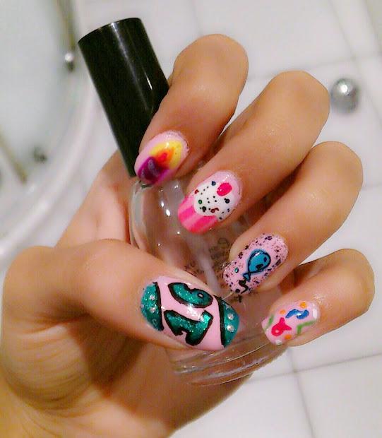 diva's diary birthday nails