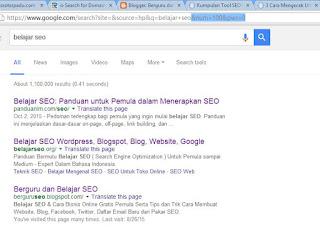Cara Cek Ranking Blog gambar 3