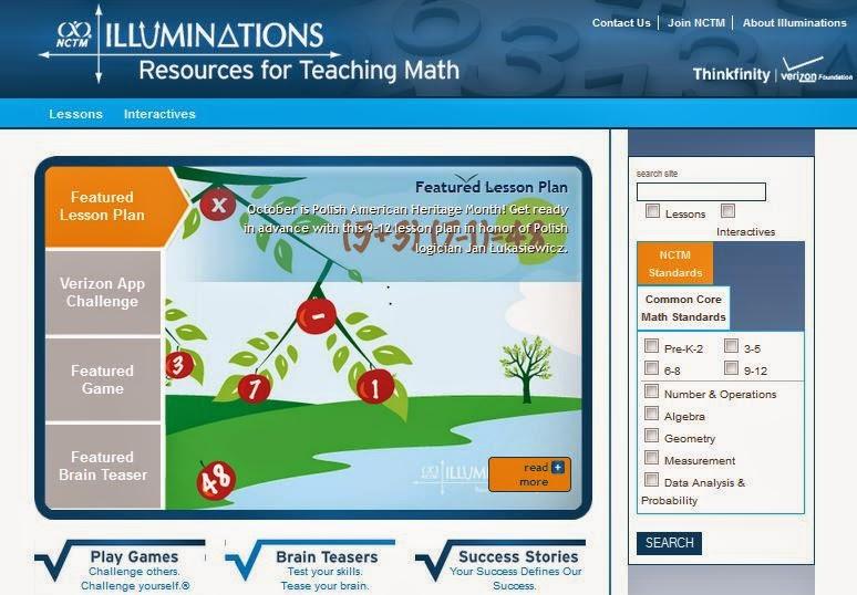 http://illuminations.nctm.org/