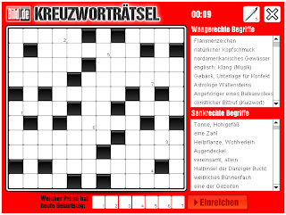 German crossword