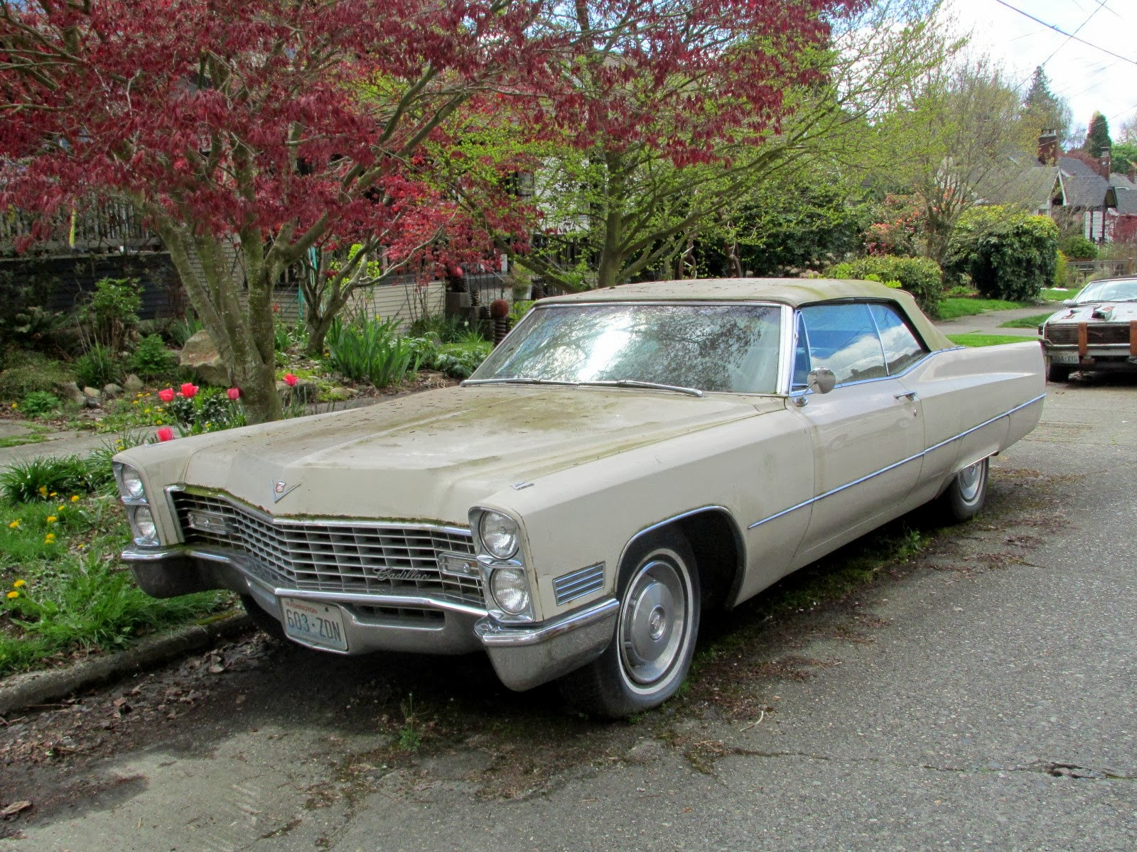 seattle 39 s classics 1967 cadillac deville convertible. Black Bedroom Furniture Sets. Home Design Ideas