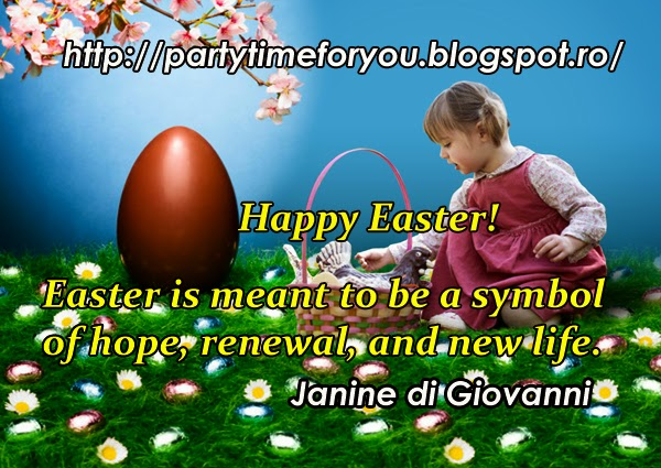 Easter is meant to be a symbol of hope, renewal, and new life.