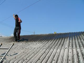 屋根スプリンクラー