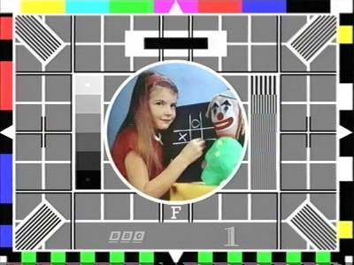 Doctor Ojiplático. Please Stand By. Test Pattern. Test Card
