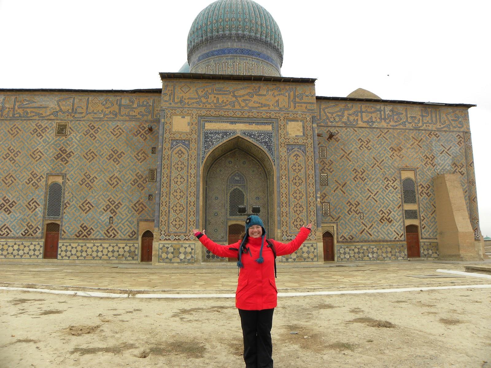 мавзолей в Туркестане Шымкент