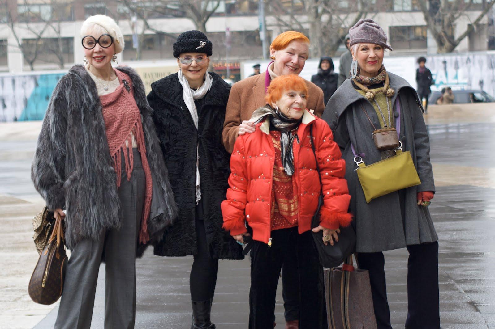 Мода для женщин элегантного возраста 3 фотография