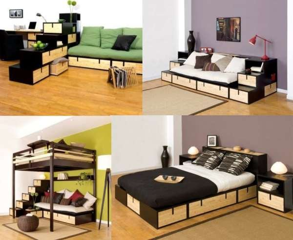 En poco espacio cama - Sofa cama que ocupen poco espacio ...