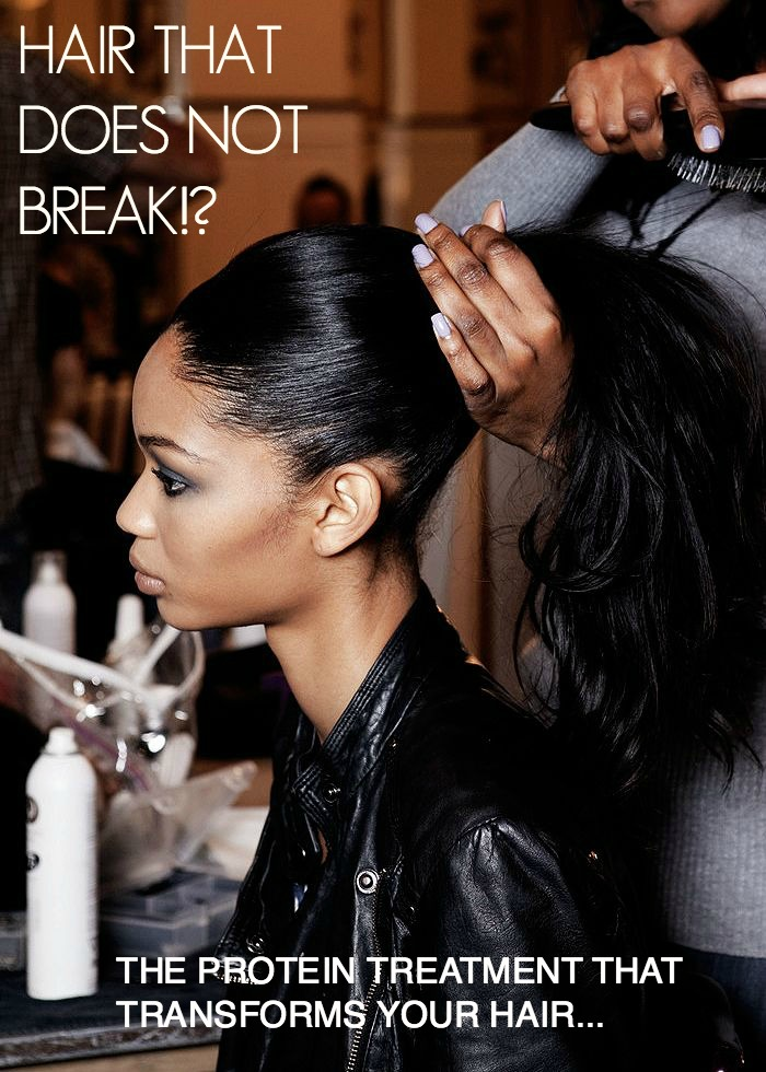 Hair That Does Not Break The Protein Treatment That Creates Miraculously Strong Shiny Hair Bellemocha Com