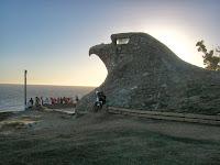 Turismo  paisajes Aguila Atlantida  Uruguay  imagenes