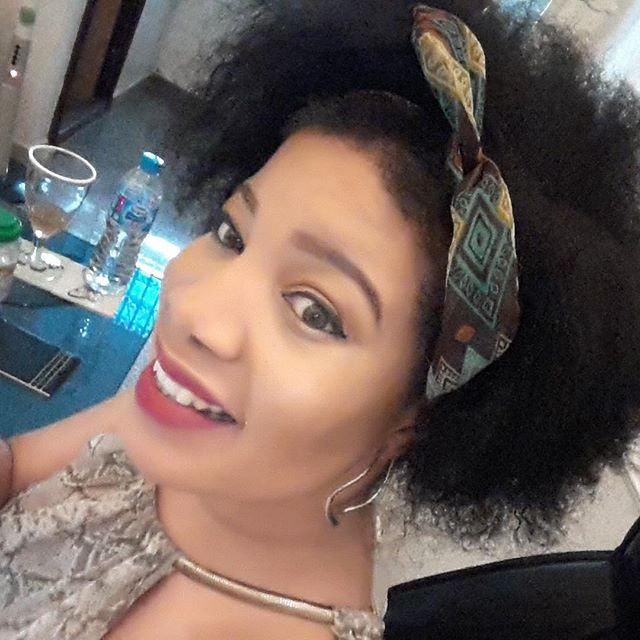 monalisa chinda natural hair