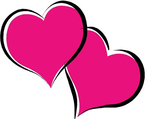 Unique Valentine's Day Hearts Clipart