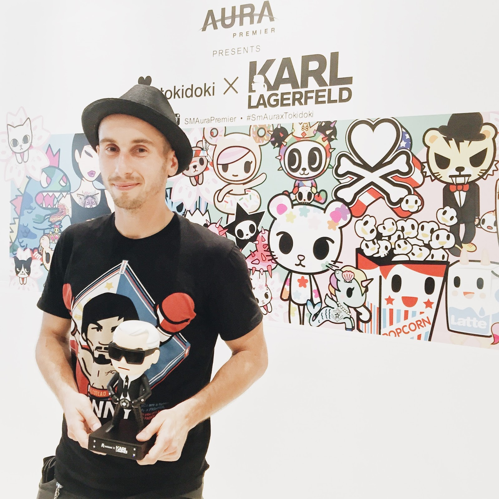 tokidoki exhibit at sm aura