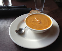 Mudgies Deli sweet potato soup
