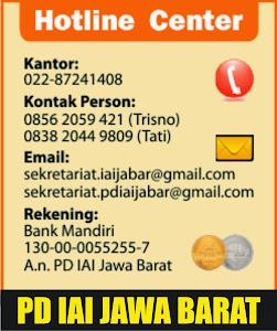 Hotline Center PD IAI Jawa Barat