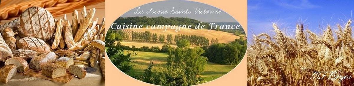 Cuisine campagne de France -La closerie Sainte Victorine-