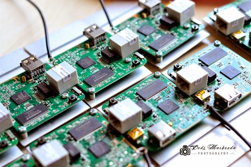 MR3020, Proyek dengan OpenWRT