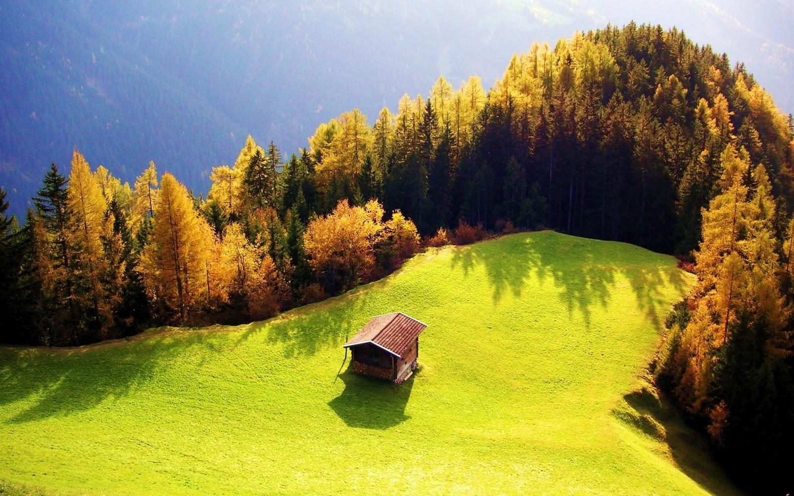 HDHintergrundbilder landschaften gebirge wald herbst bilder