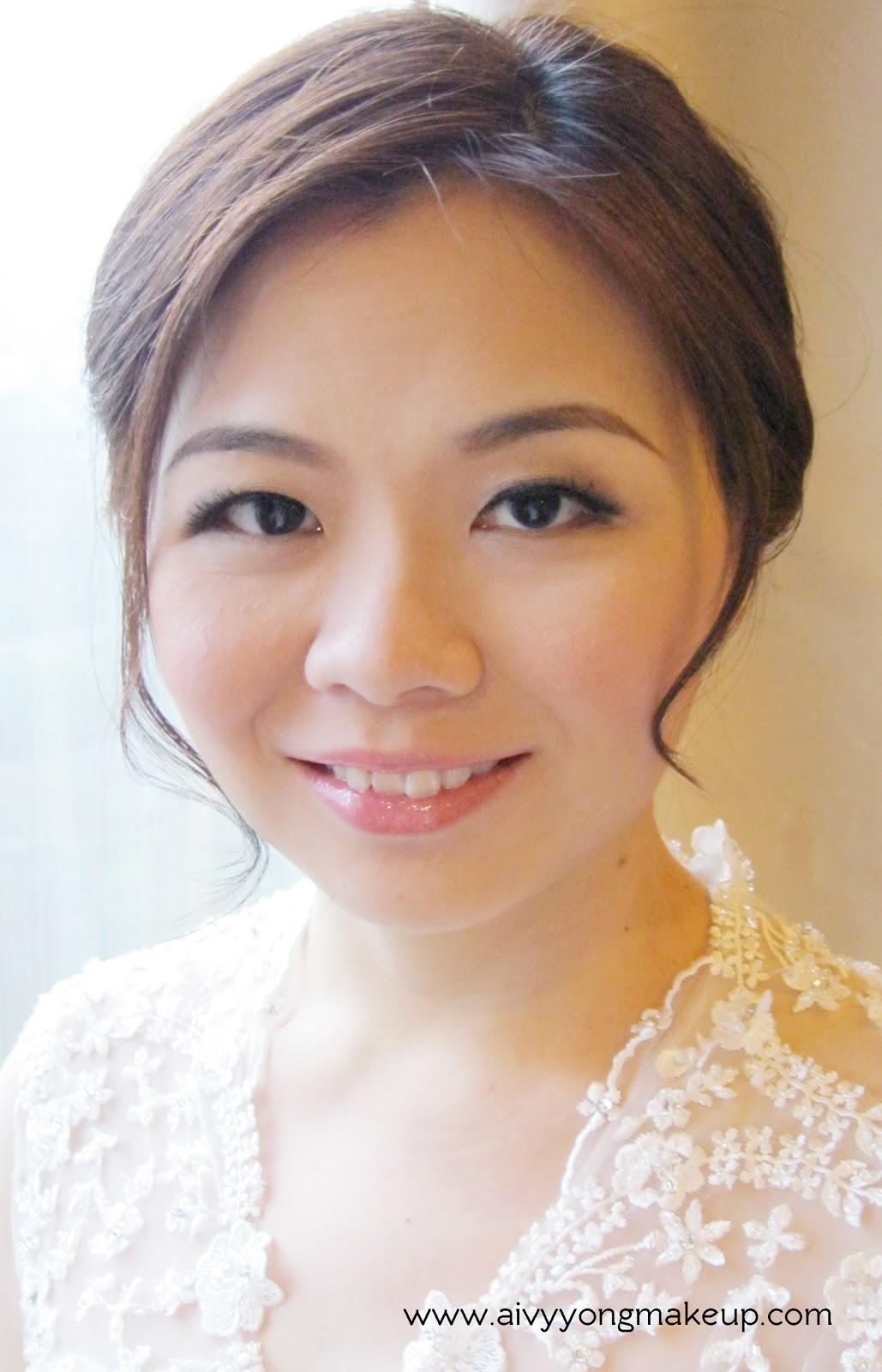Hui Joo- Airbrush bridal makeup styling Aivy Yong air ...