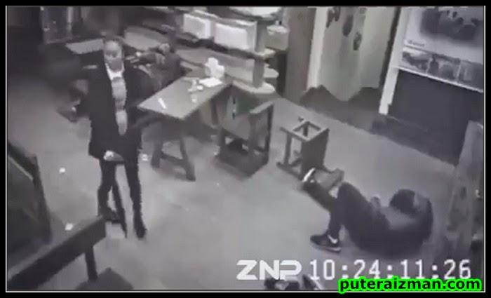 Video Seorang Wanita Balun 3 Lelaki Dalam 7 Saat