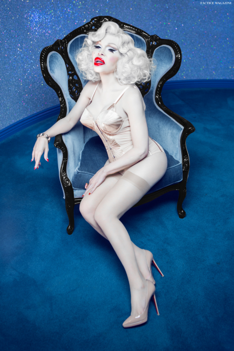 Amanda Lepore by Vijat Mohindra for Factice Magazine