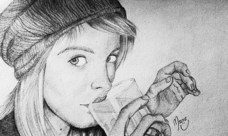 Dibujos dificiles a lapiz - Imagui