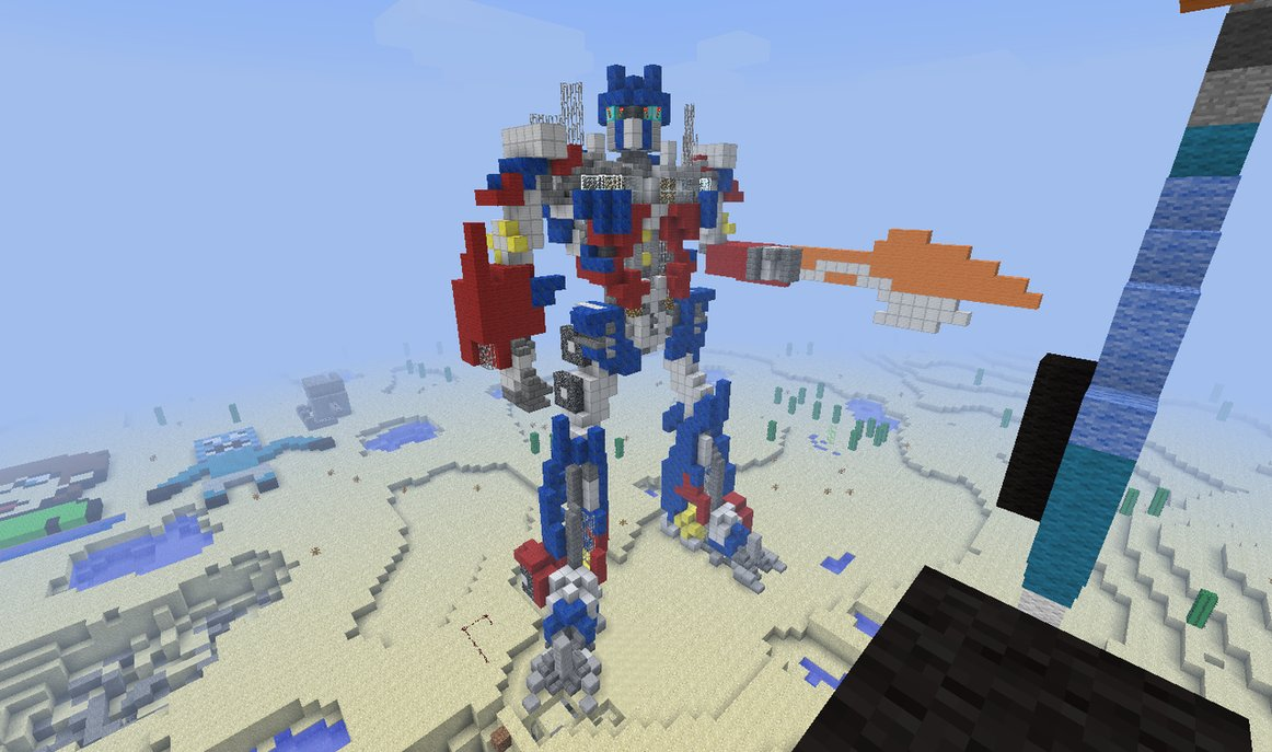 Transformers Pentagon Minecraft Build