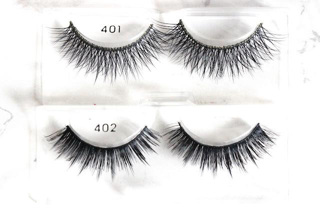 Ono Lash False Eyelashes - 401 and 402