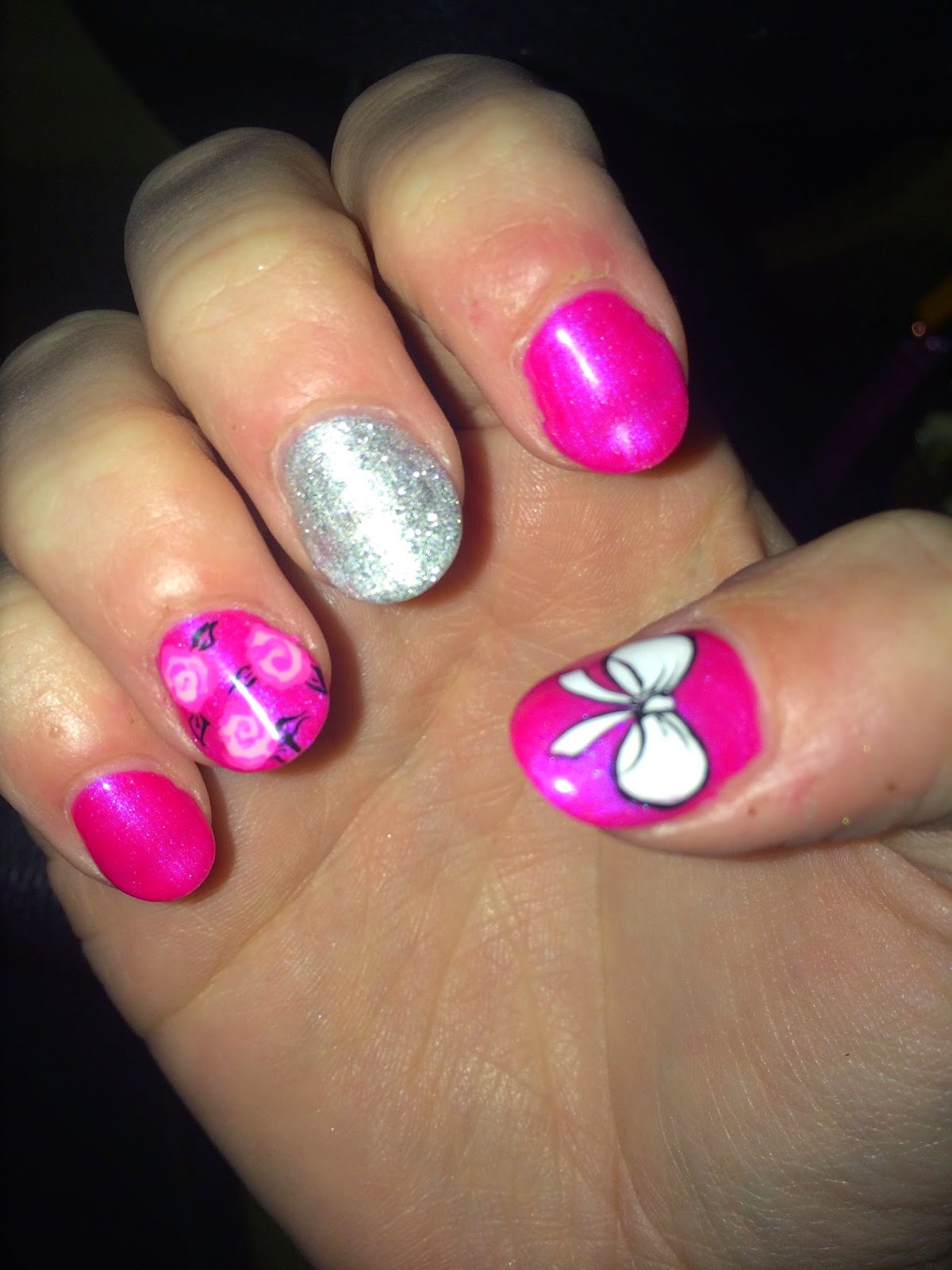 The Girliest Nails! | Ashley\'s Passion for Fashion