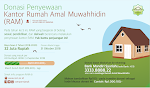 Donasi Penyewaan Kantor Sekretariat Rumah Amal Muwahhidin (RAM)