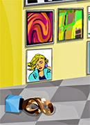 Уборка на выставке - Онлайн игра для девочек