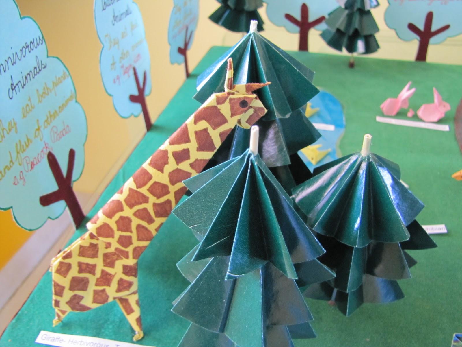 Origami Jungle Animals - photo#7