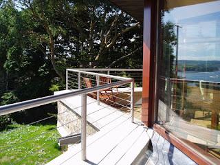 Stainless steel banister for handrail