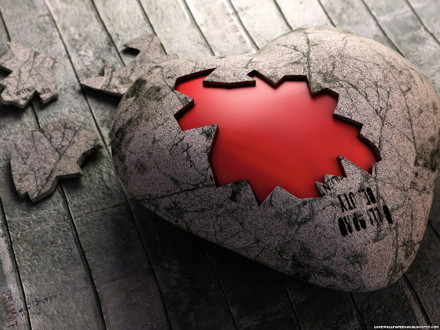 3d heart Wallpaper