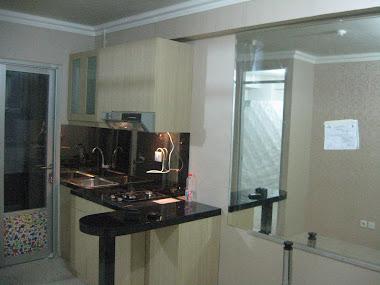 Kitchen set Apartemen Kelapa Gading