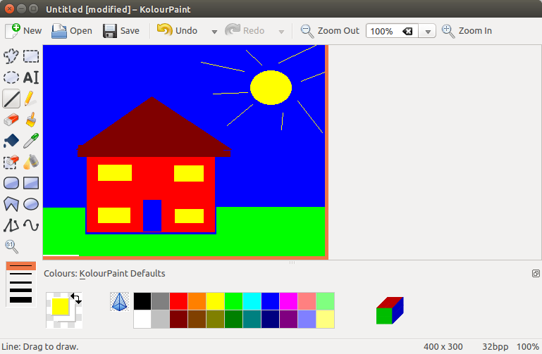Microsoft Paint Window