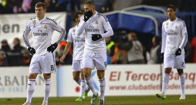 Atletico Madrid 2 - 0 Real Madrid