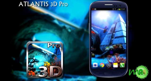 Atlantis 3D Pro Live Wallpaper  1.4 apk