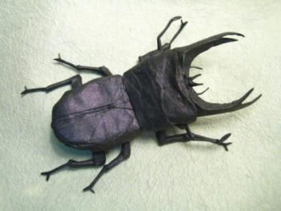 فن الاوريجامي - مجموعة حشرات مرعبة-منتهى