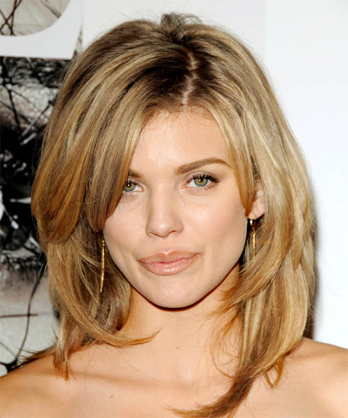long hairstyles with highlights. AnnaLynne McCord hairstyles