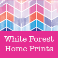 White Forest Home Prints