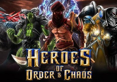 Heroes of Order & Chaos for Android & iOS