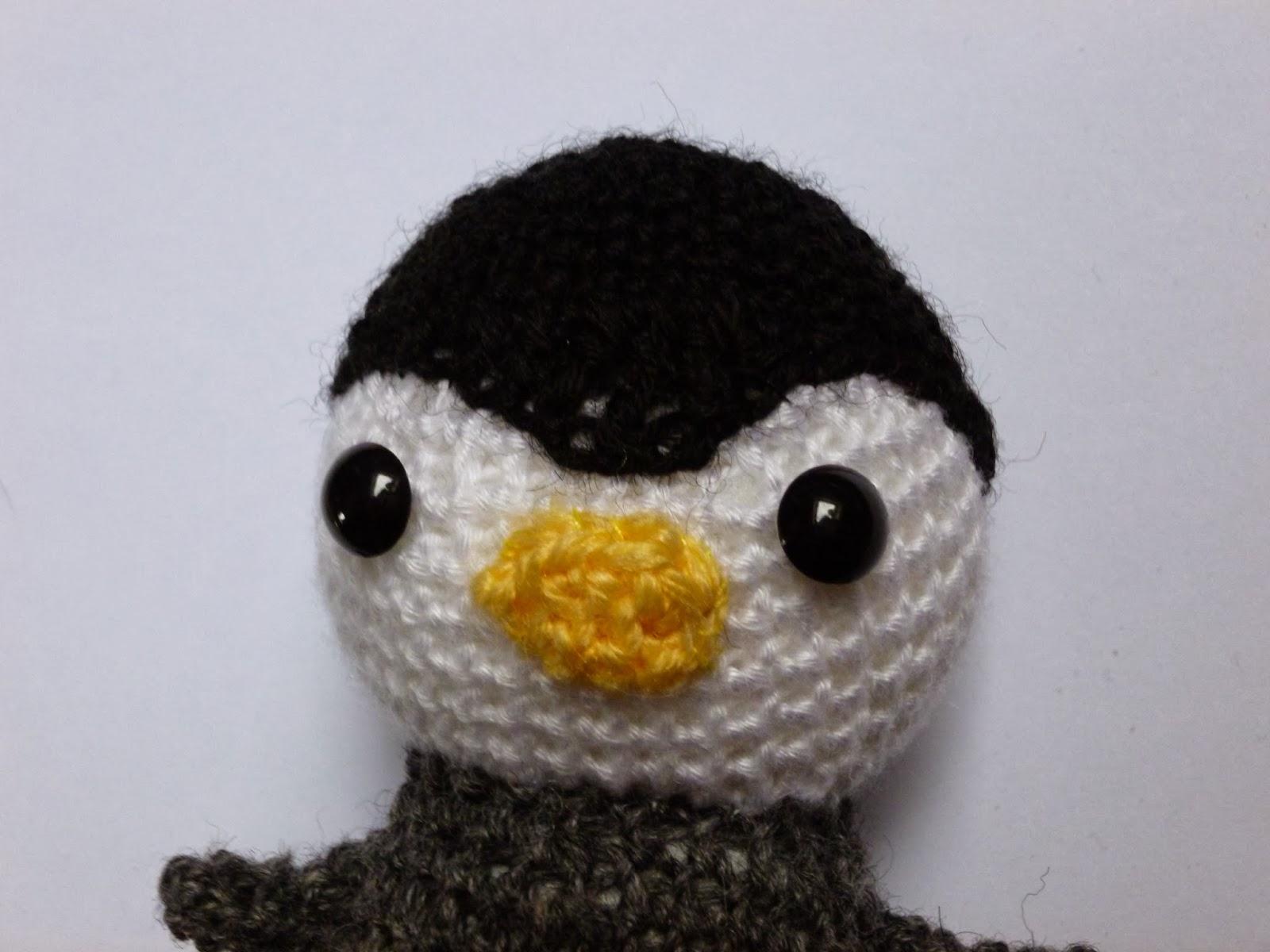 Amigurumi Linux Penguin : Amigurumi Penguin
