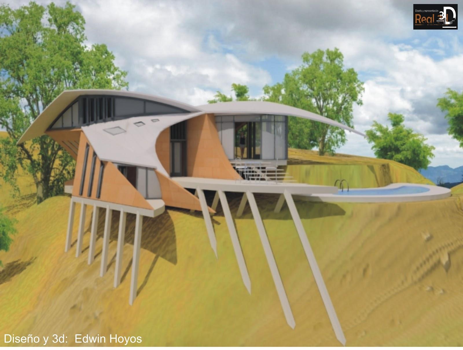 portafolio arquitectonico  casa del viento