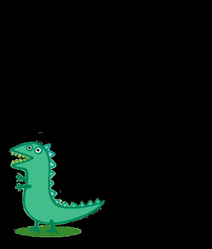 Peppa Pig George Dinosaur