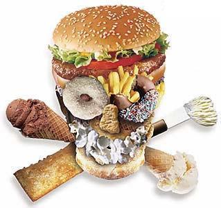 perigos da comida fast food