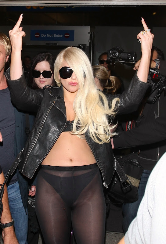 Lady Gaga makes a statement