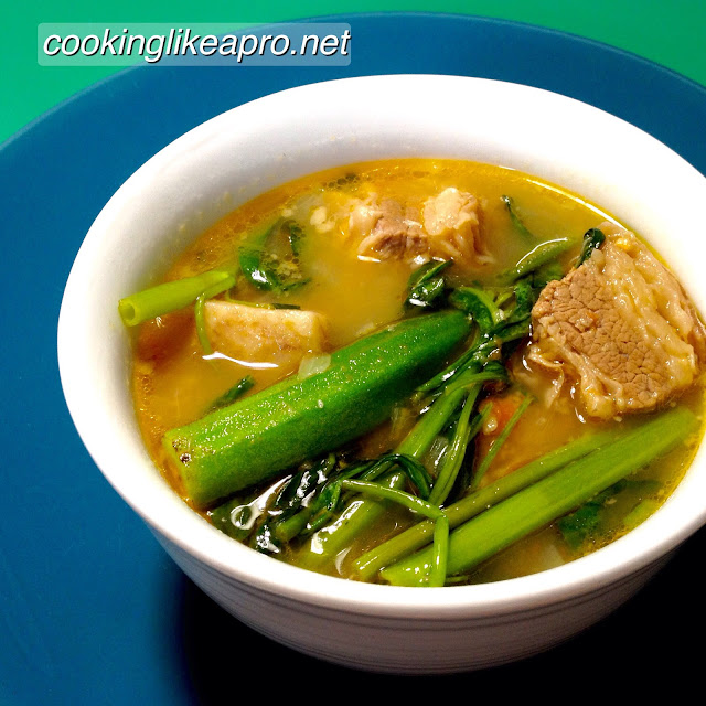 how to cook sinigang sa bayabas