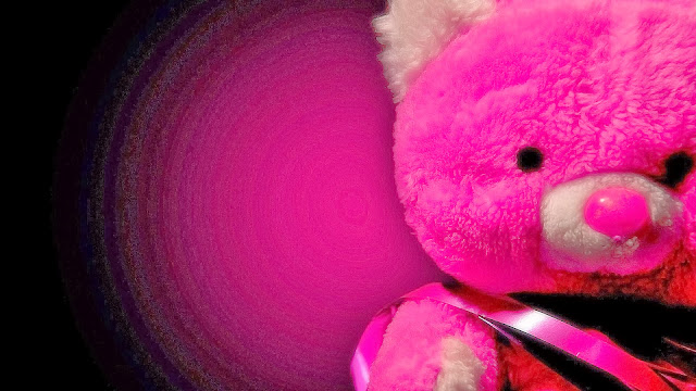 Osito de Peluche Rosado para San Valentin