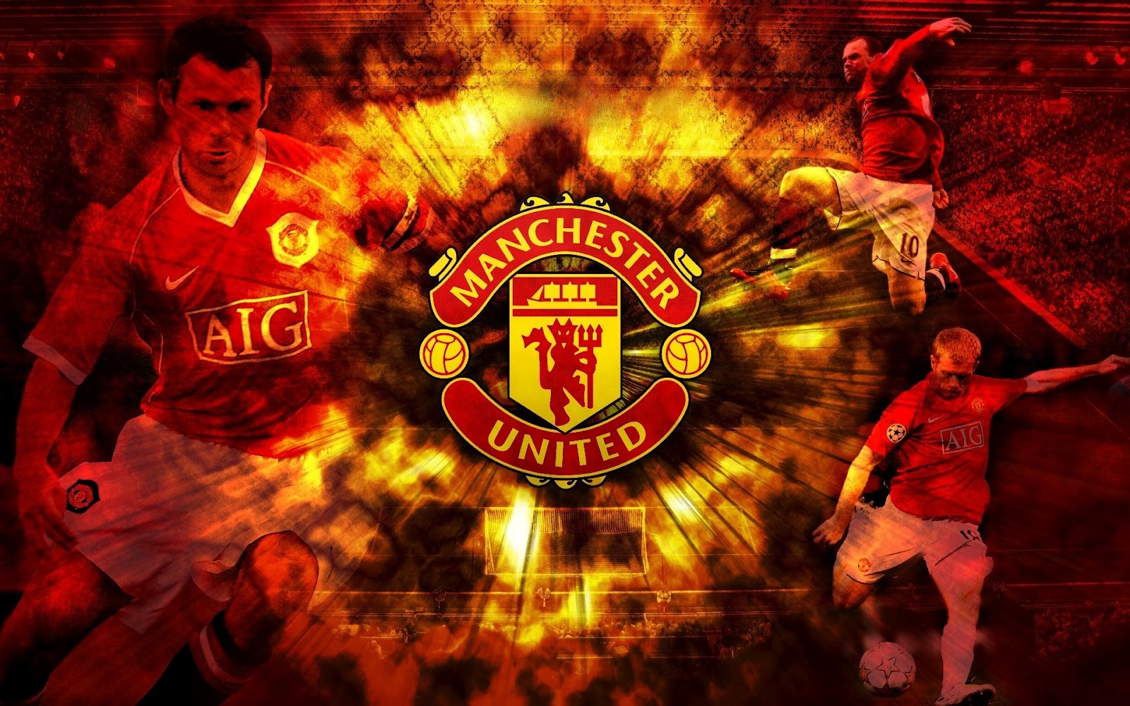 Manchester united logo hd wallpapers 2013 2014 football news and manchester united logo hd wallpapers 2013 2014 football news and updates voltagebd Images