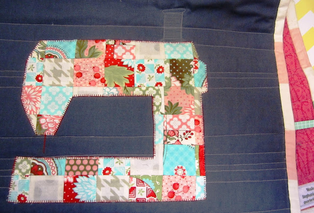 The Sewing Room Swap- Sewing Machine Cover